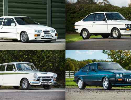 Auction fever at the NEC: Ford Sierra RS Cosworth sells for £112,000