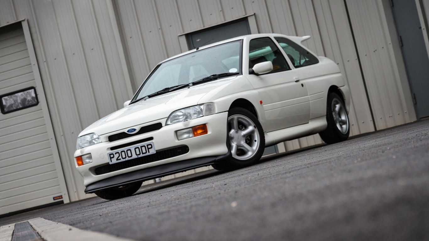 Ford Escort RS Cosworth Lux: £91,125