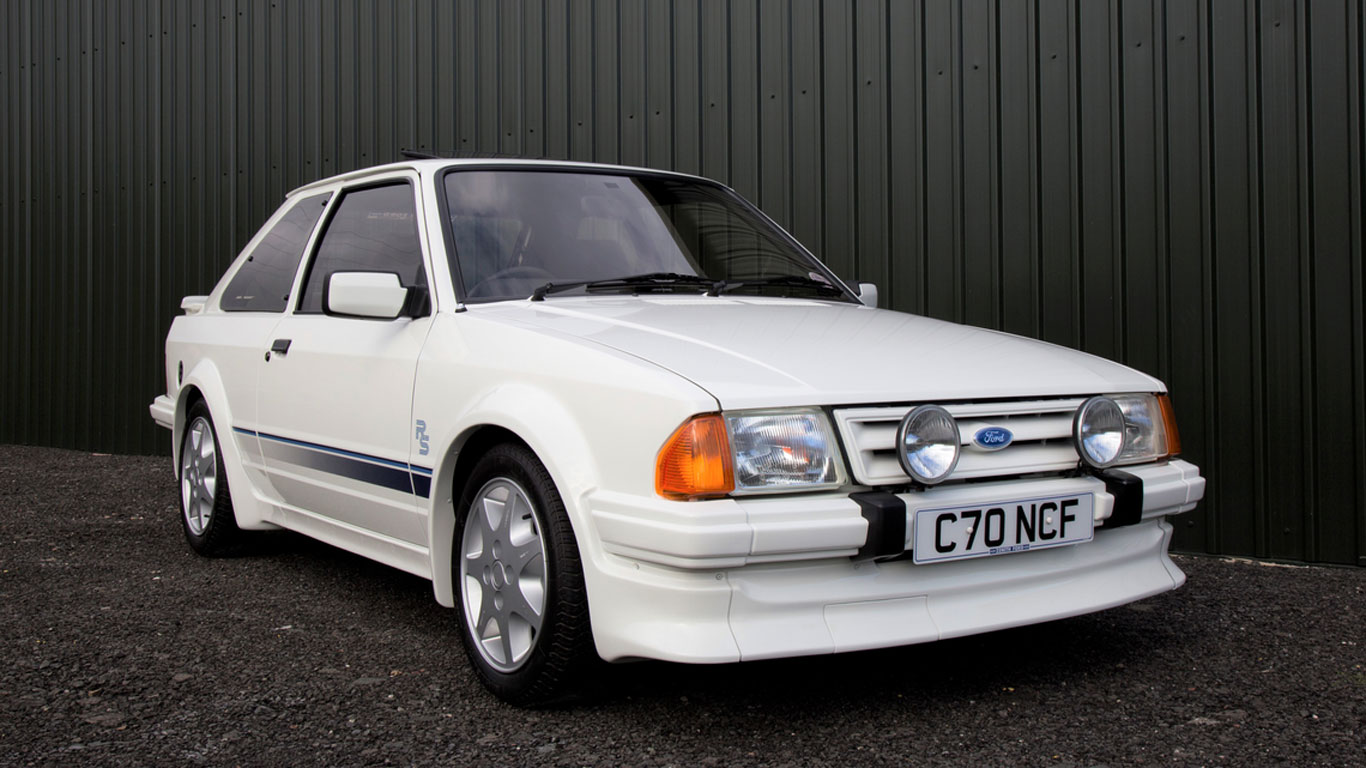 Ford Escort RS Turbo: £44,438