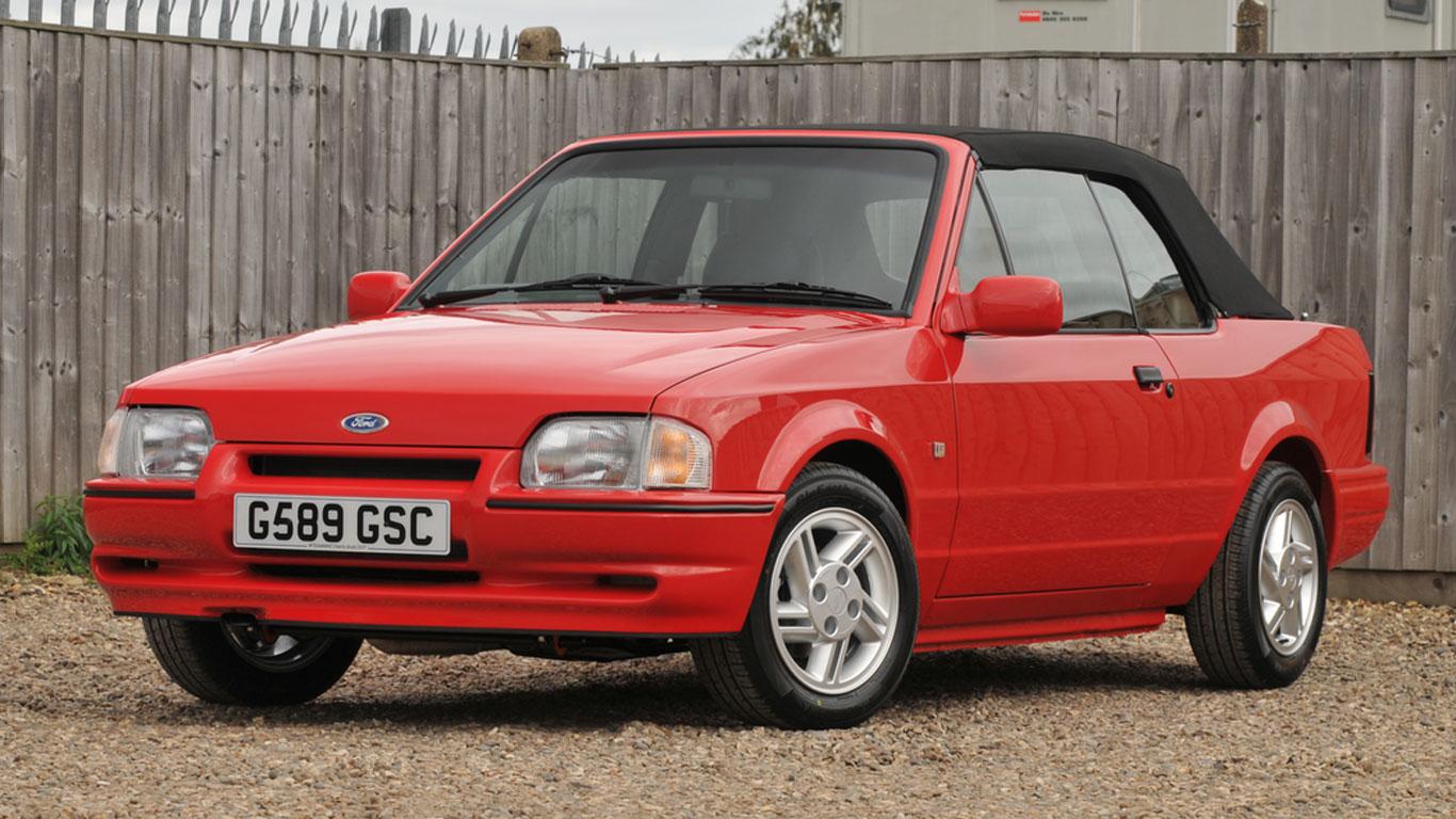 Ford Escort XR3i Cabriolet: £22,500