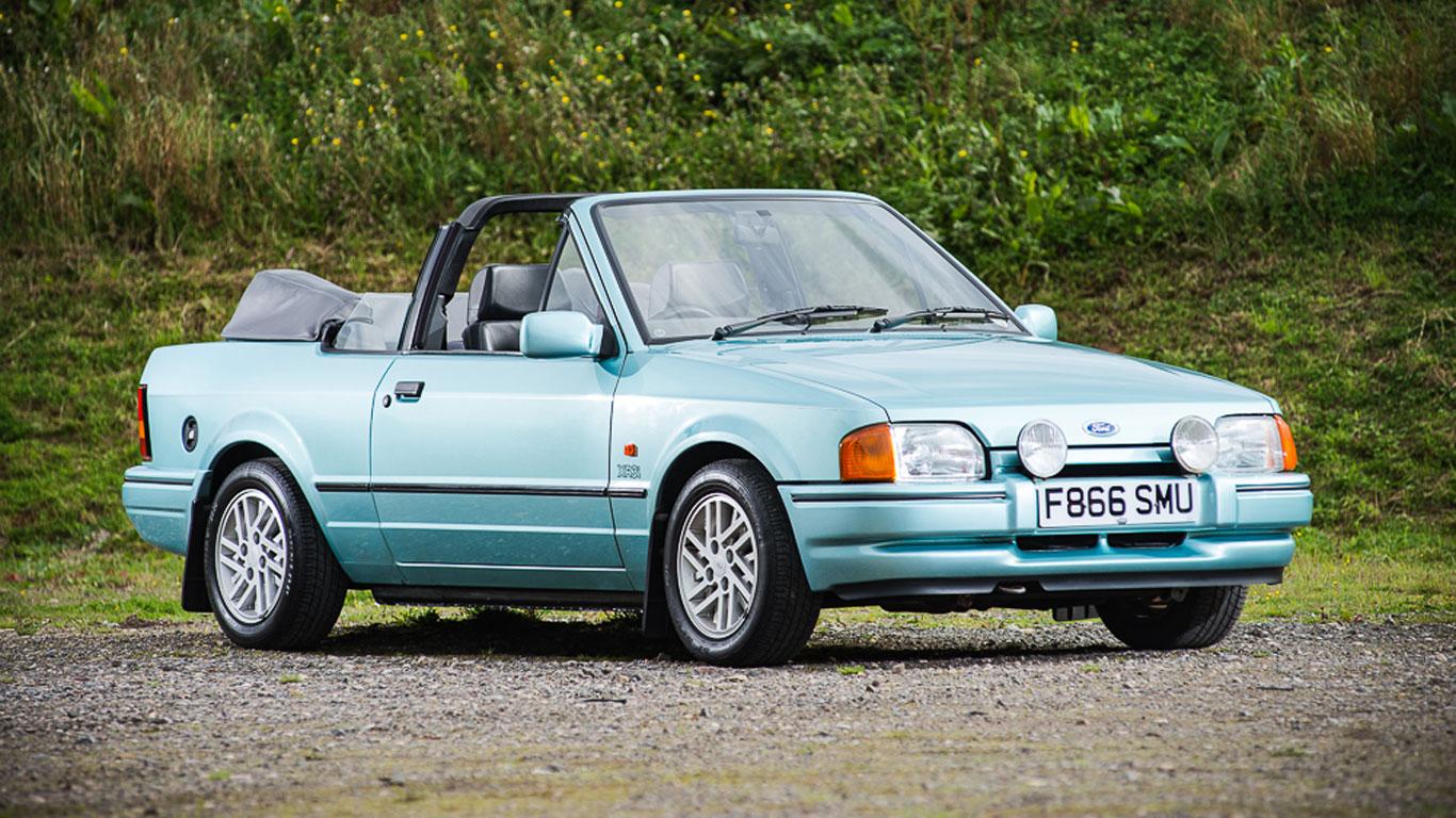 Ford Escort XR3i Cabriolet: £16,313