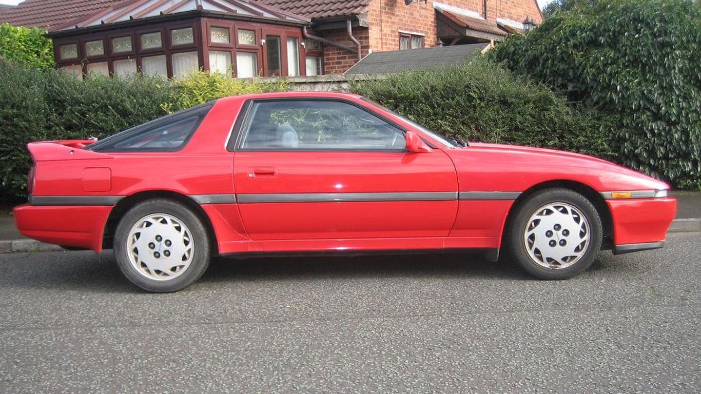 Toyota Supra: £1,400