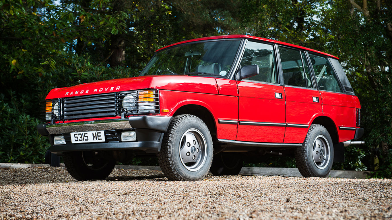 Range Rover Classic: £42,750