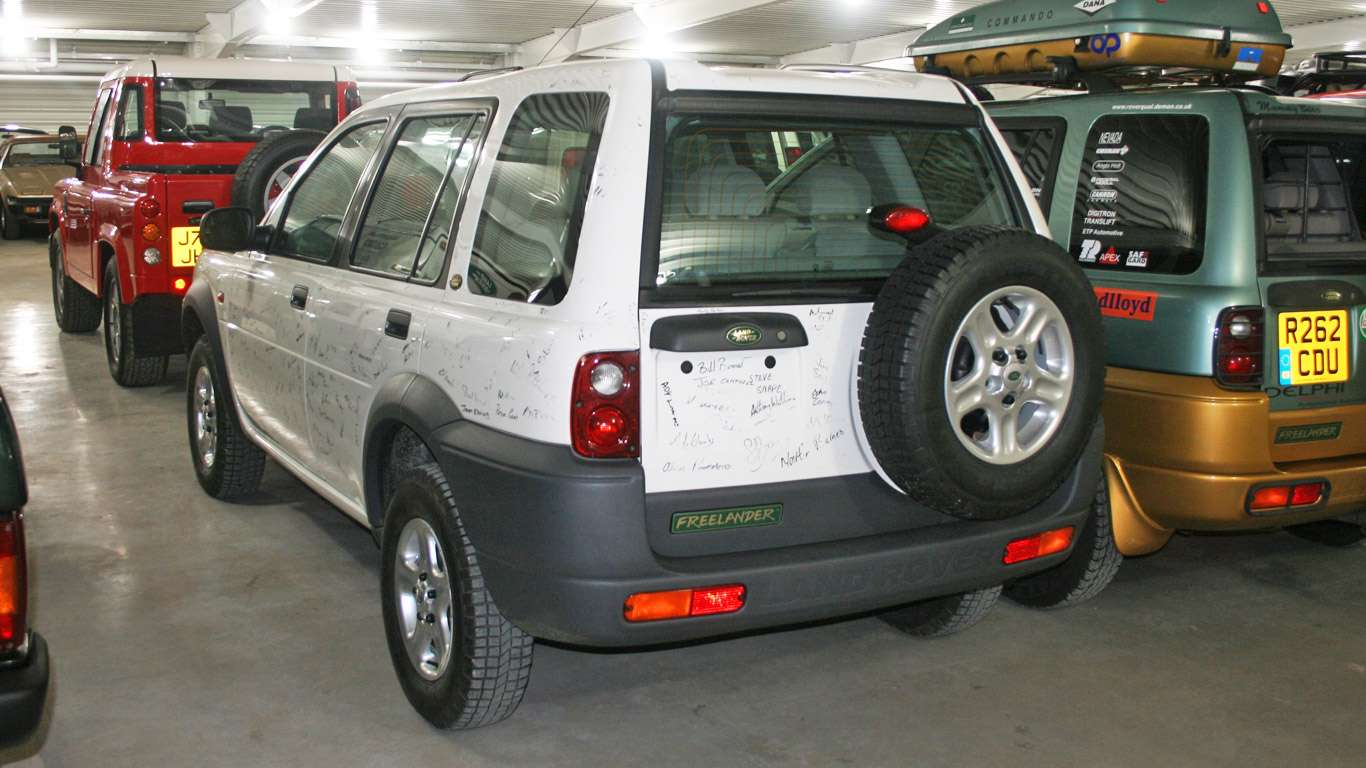 First Land Rover Freelander