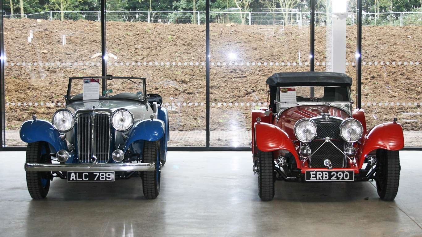 1933 SSl 16hp Tourer and 1938 SS Jaguar 100 2½ litre