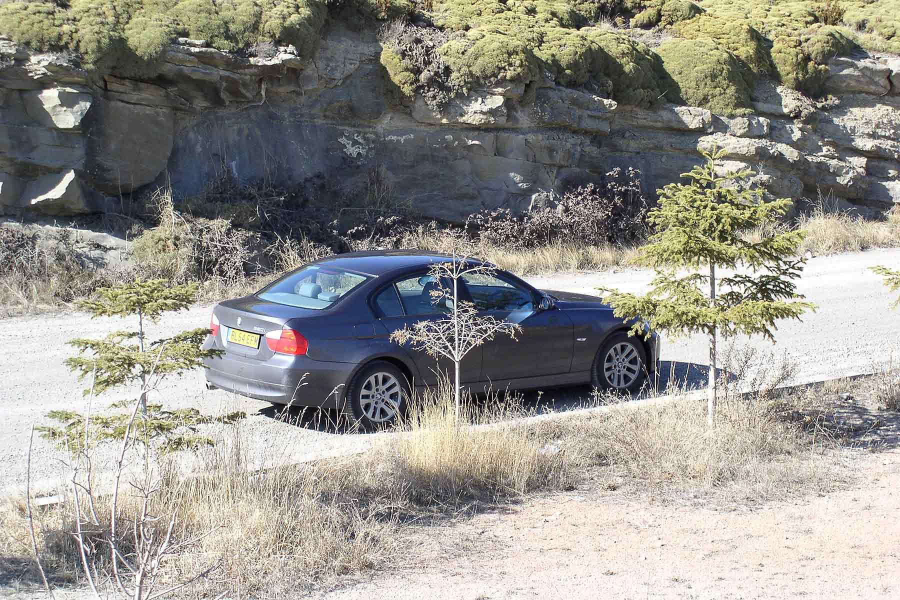 E90 BMW 320i driveback 2005