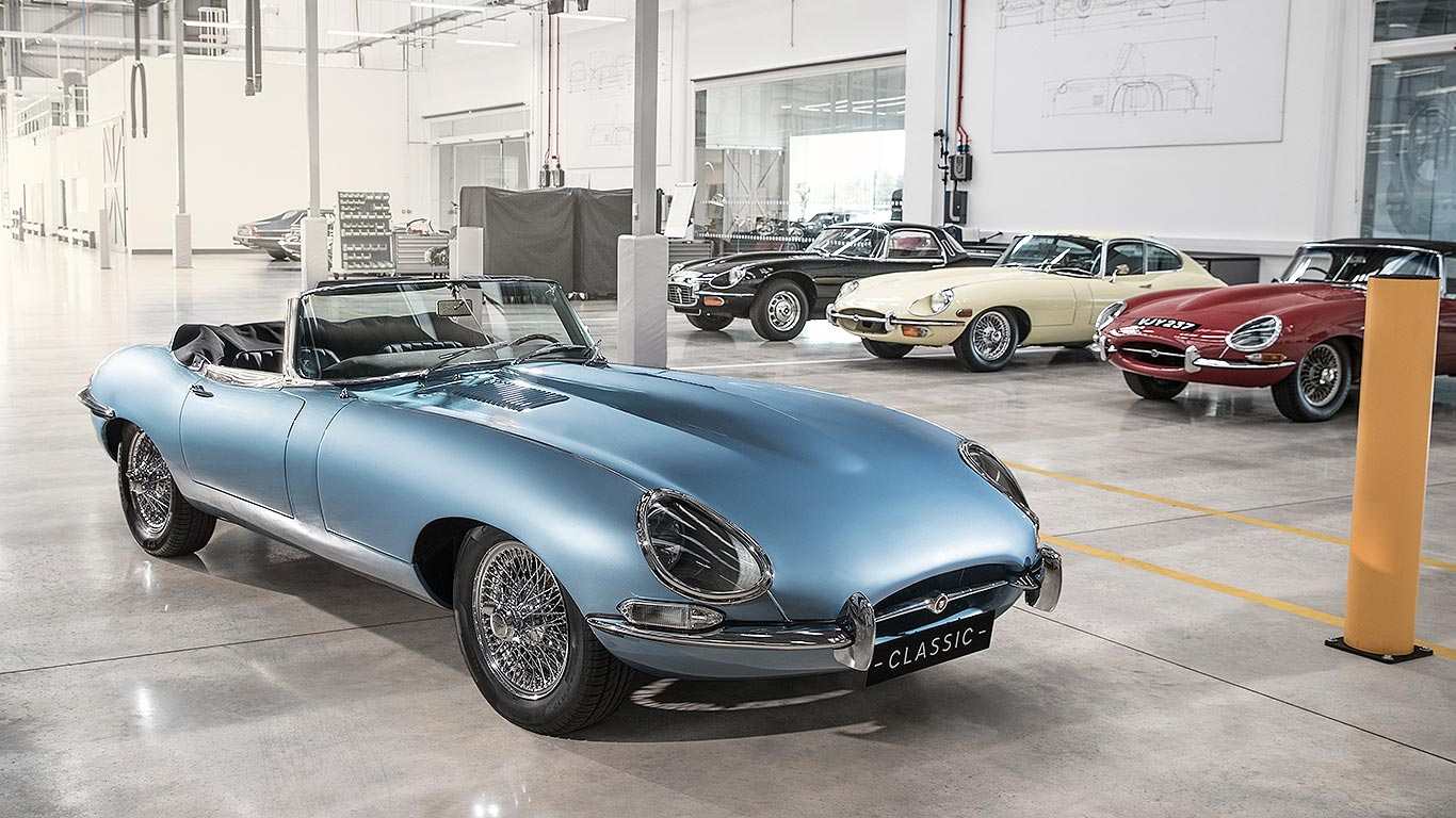 Jaguar E-Type Zero: the EV E-Type electric classic