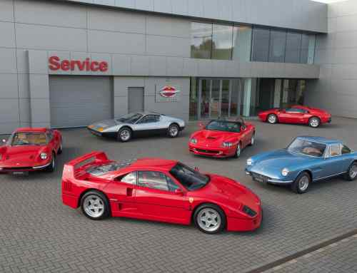 These dealers are now authorised to work on your retro Ferrari