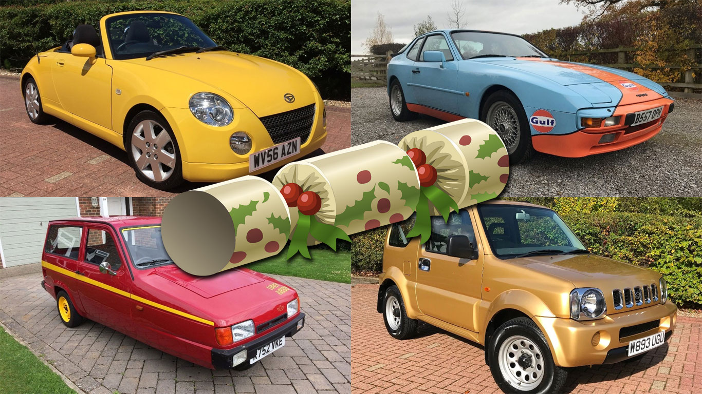Christmas crackers: affordable cars to make you smile