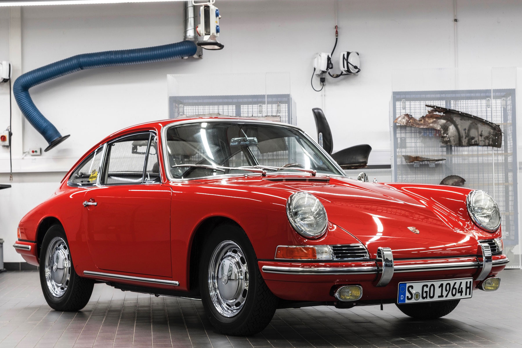 Amazing Barn Find Porsche 901 Pre Dates The 911
