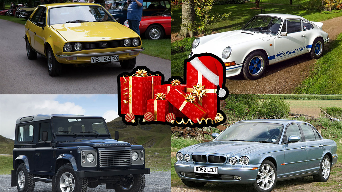Revealed: the retro cars we want for Christmas