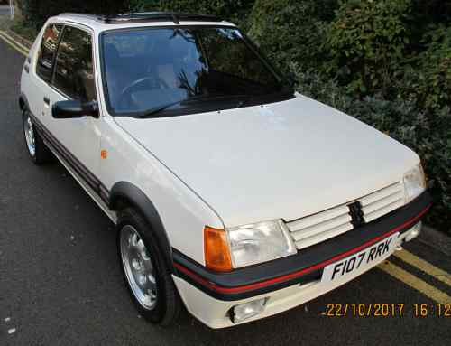 Peugeot 205 GTI sells for 'bargain' £27,000 at auction