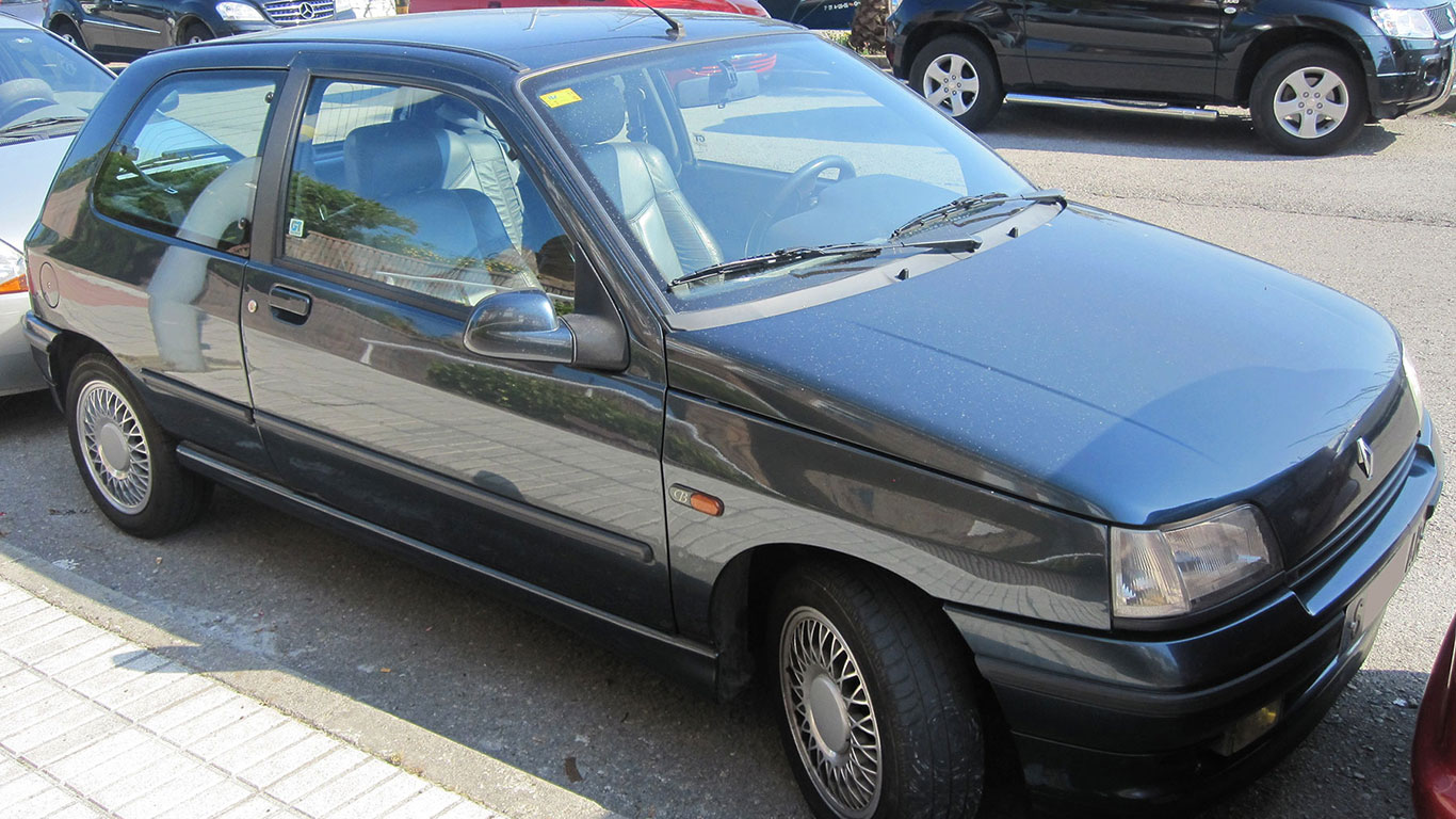GBS: Renault Clio Baccara