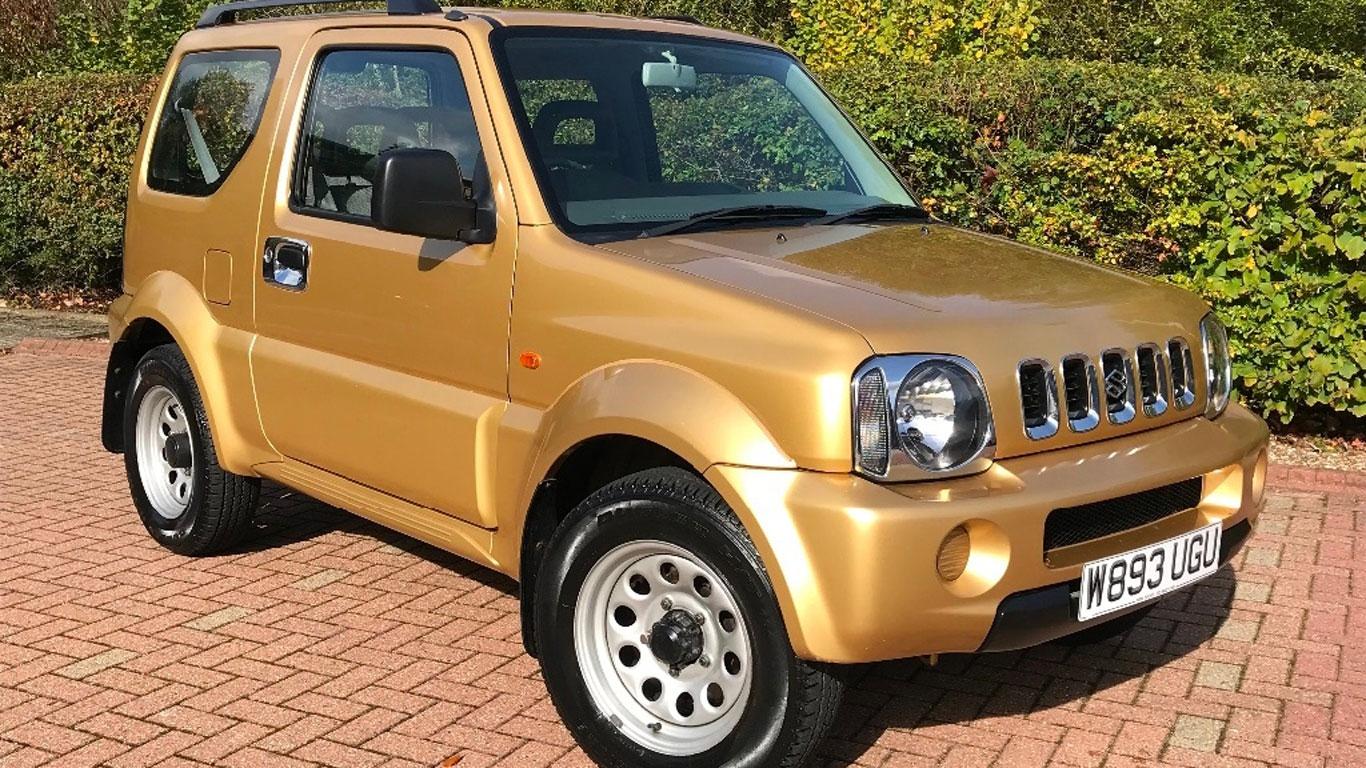 Suzuki Jimny: £4,790