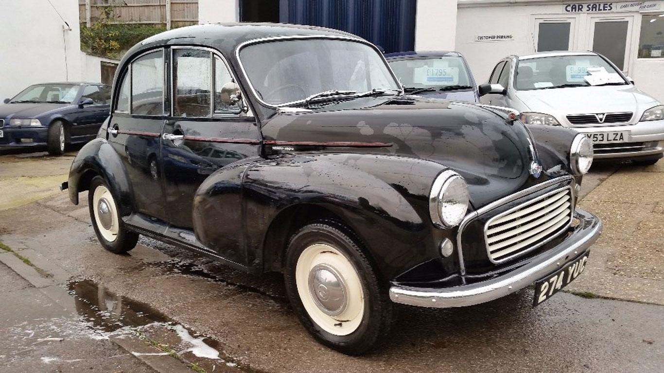 Morris Minor: £3,695