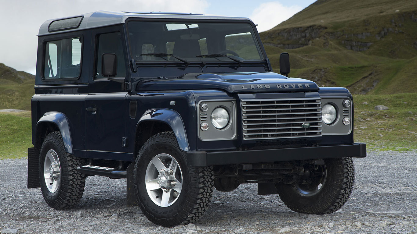 BL: Land Rover Defender