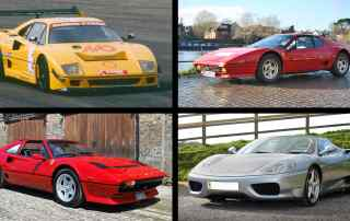 A Ferrari for every budget: prancing horses up for auction