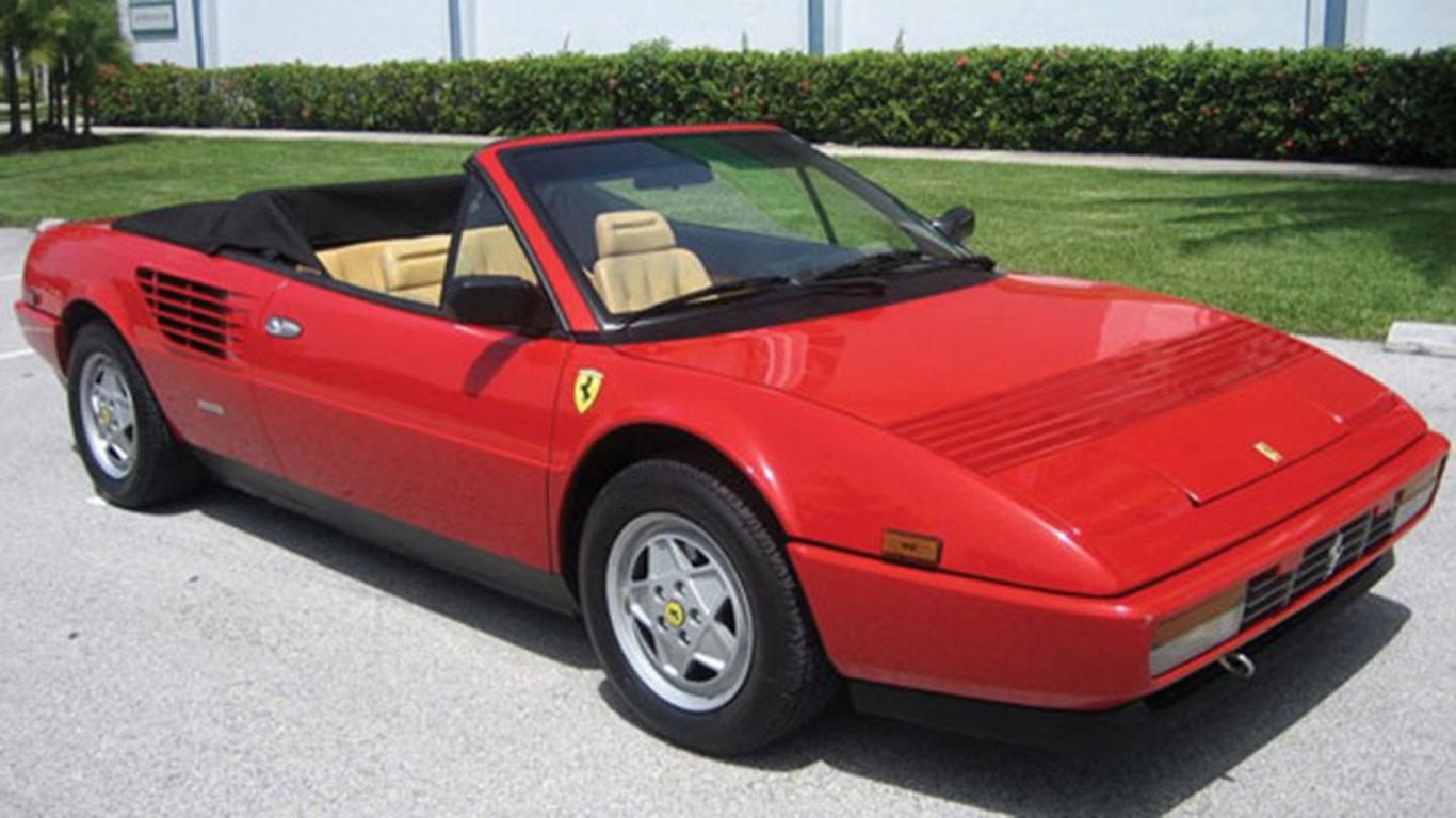 1986 ferrari mondial 3 2 cabriolet retro mr. Black Bedroom Furniture Sets. Home Design Ideas
