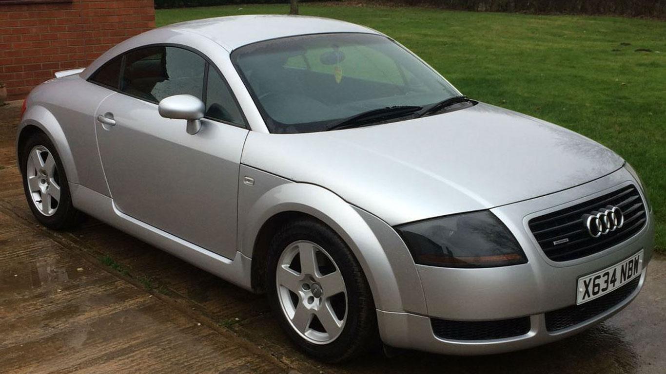 Audi TT: £1,500 - £1,800