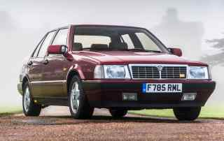 Lancia Thema 8.32 owned by Rowan Atkinson