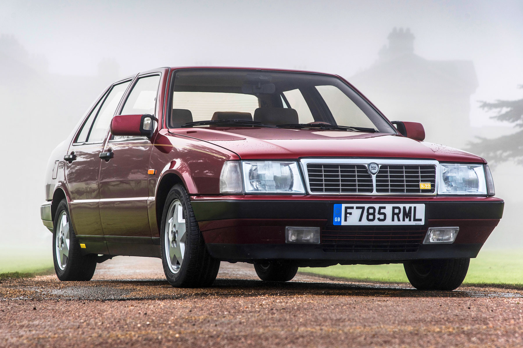 Lancia Thema 8.32 owned by Rowan Atkinson