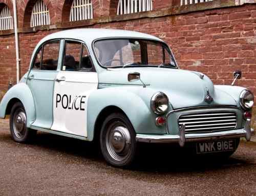 It's official: police in Scotland love a retro cop car