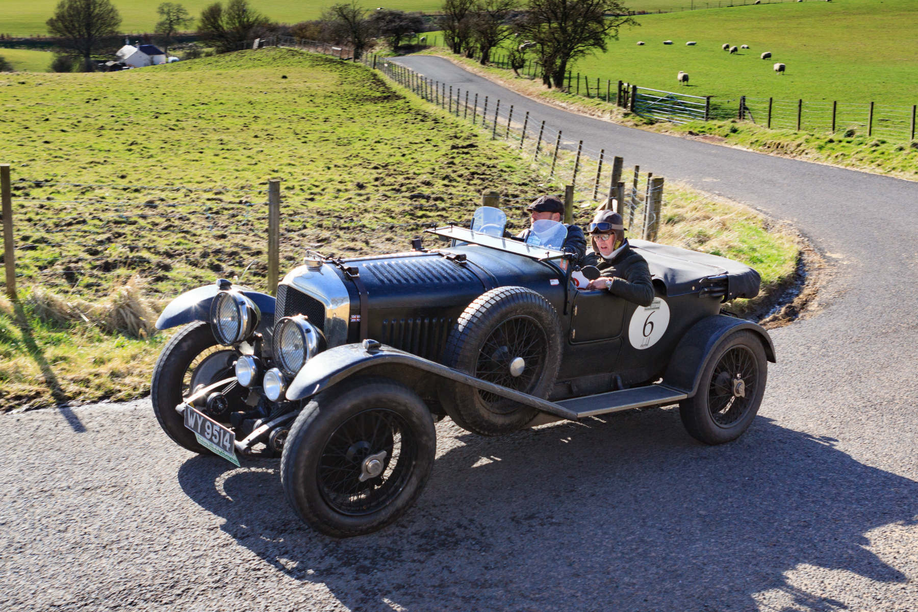 Drive a classic car in Scotland? You're officially less likely to crash