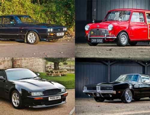 Celebrity cars star at Race Retro auction