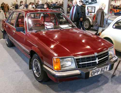 We found a Vauxhall Viceroy lurking at the London Classic Car Show