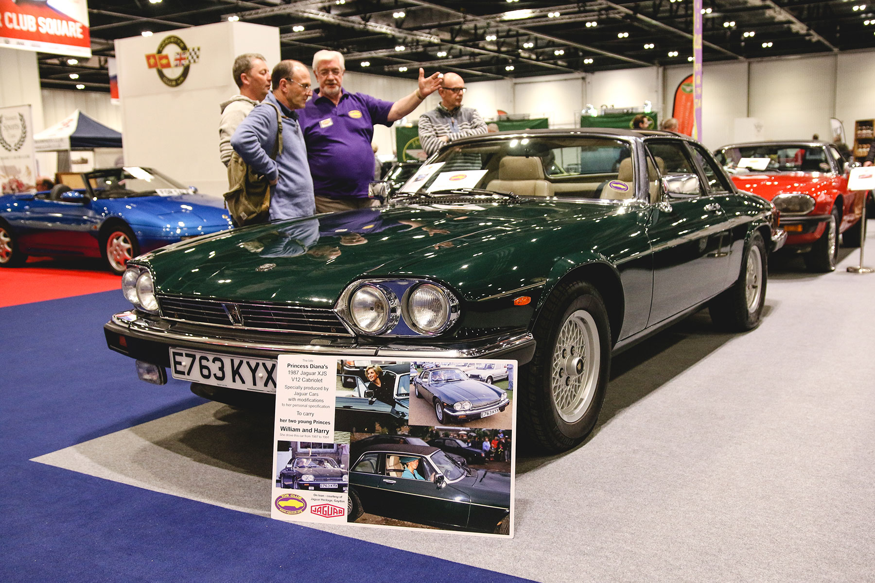 Princess Diana's Jaguar XJ-S