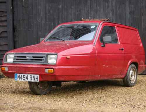 Reliant Rialto review: meeting a hero (yes, really)