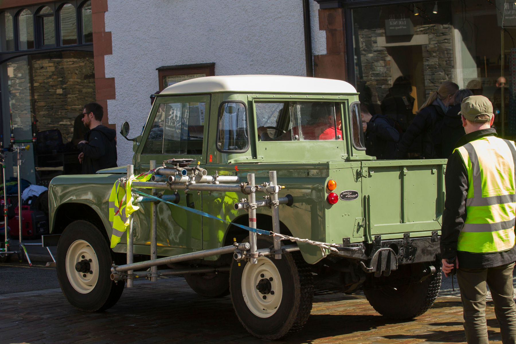 Rare Peter Rabbit Land Rover up for auction