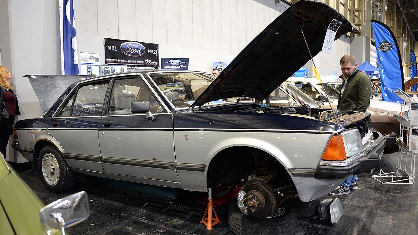 NEC Classic Car and Restoration Show: in pictures