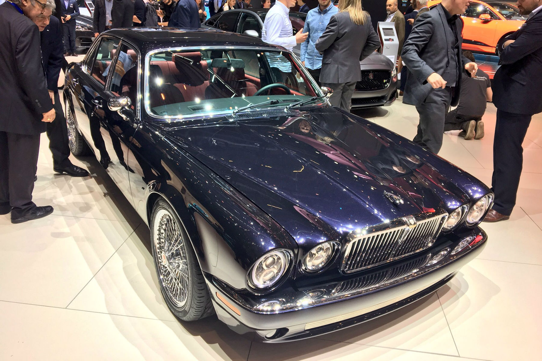 Iron Maiden Drummer S Jaguar Xj6 Is The Coolest Thing At