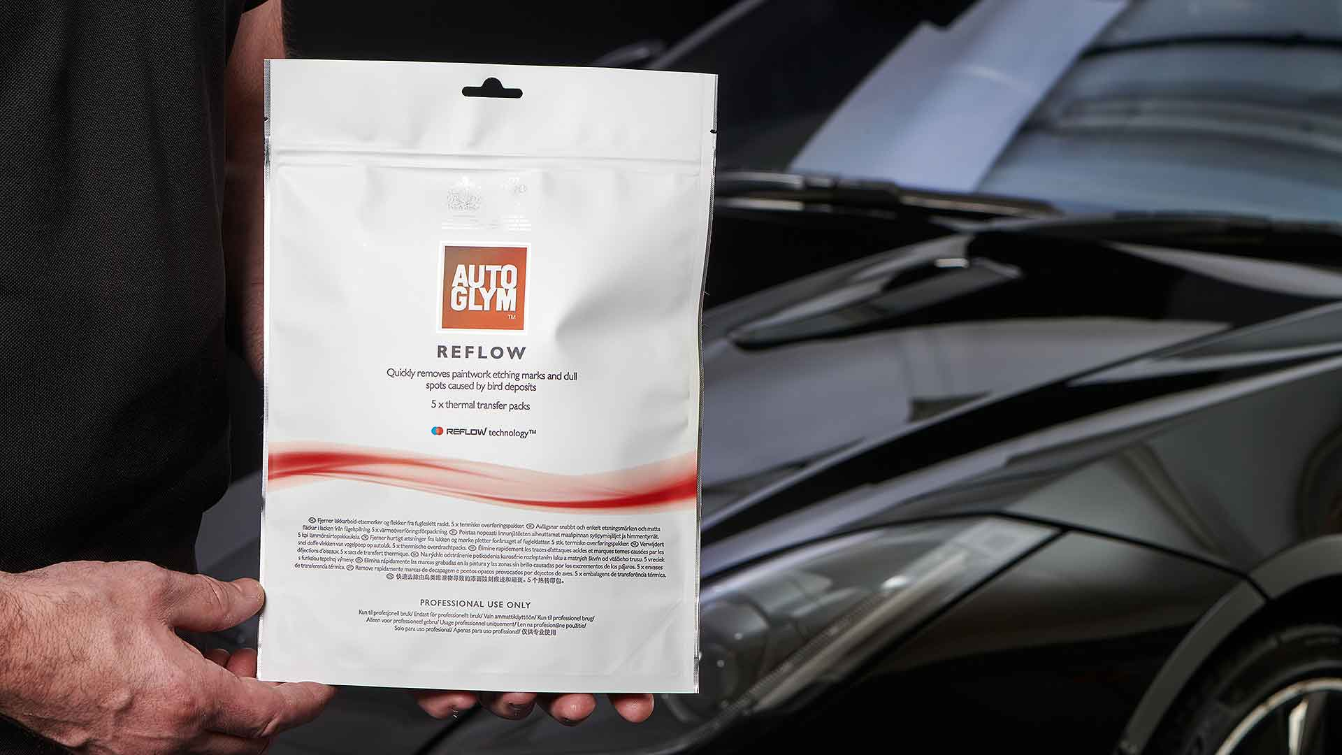 Autoglym Reflow product packaging