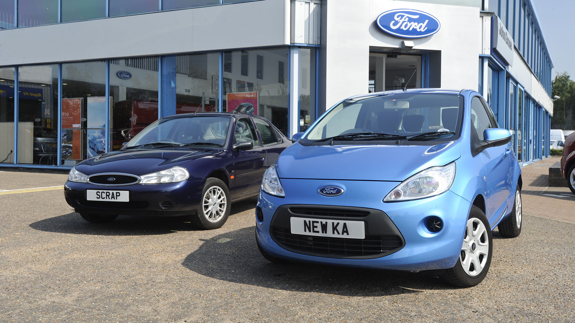 Ford Ka and Mondeo scrappage