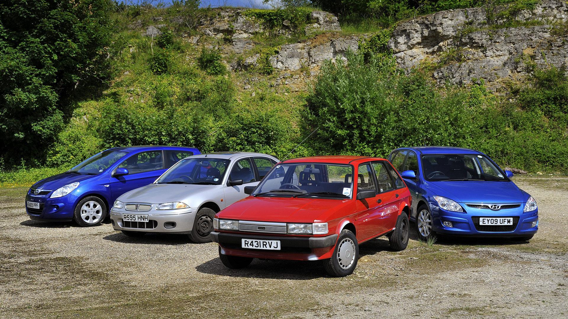 Hyundai and Rover scrappage