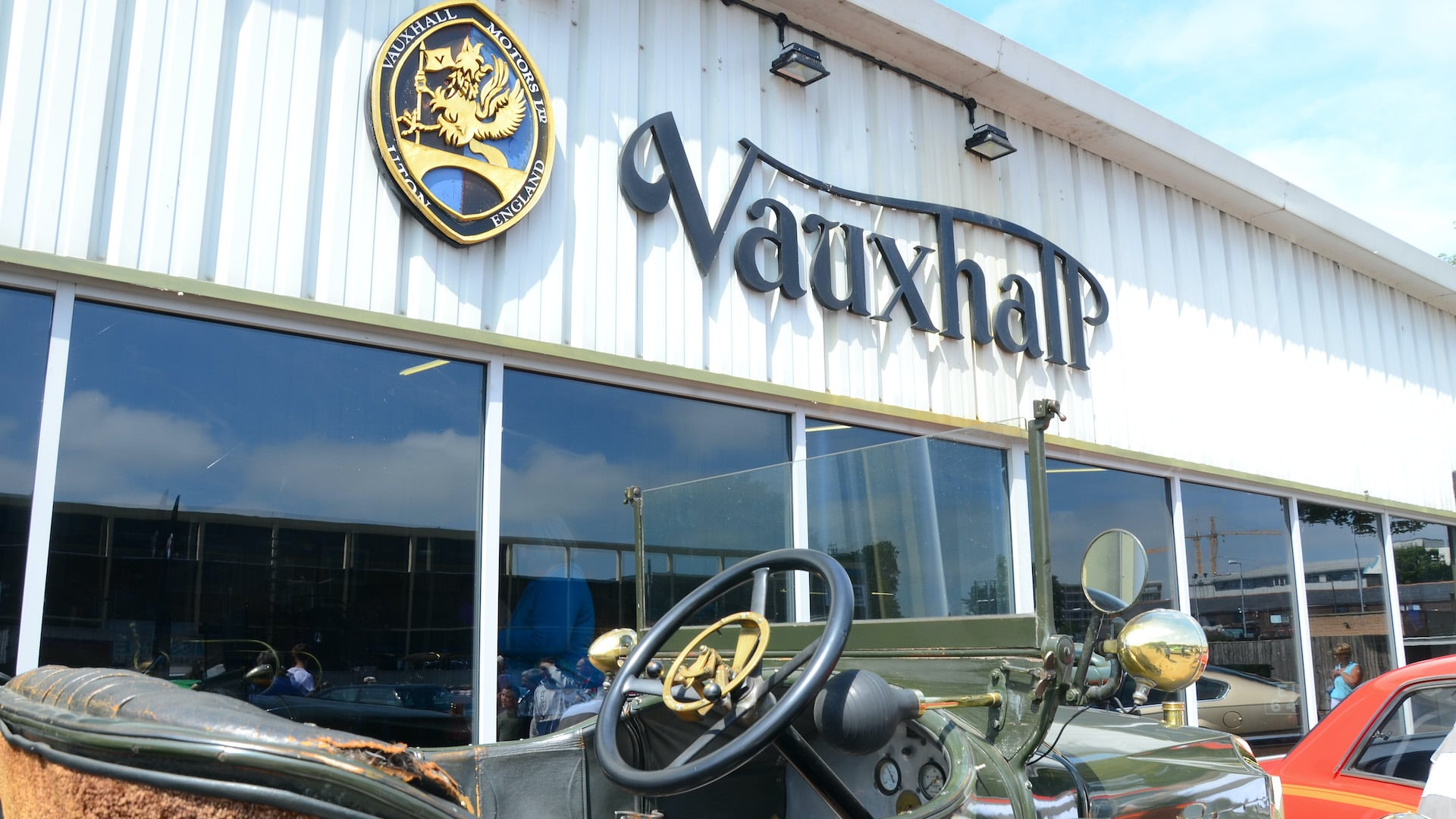 Vauxhall Heritage Luton Exhibition