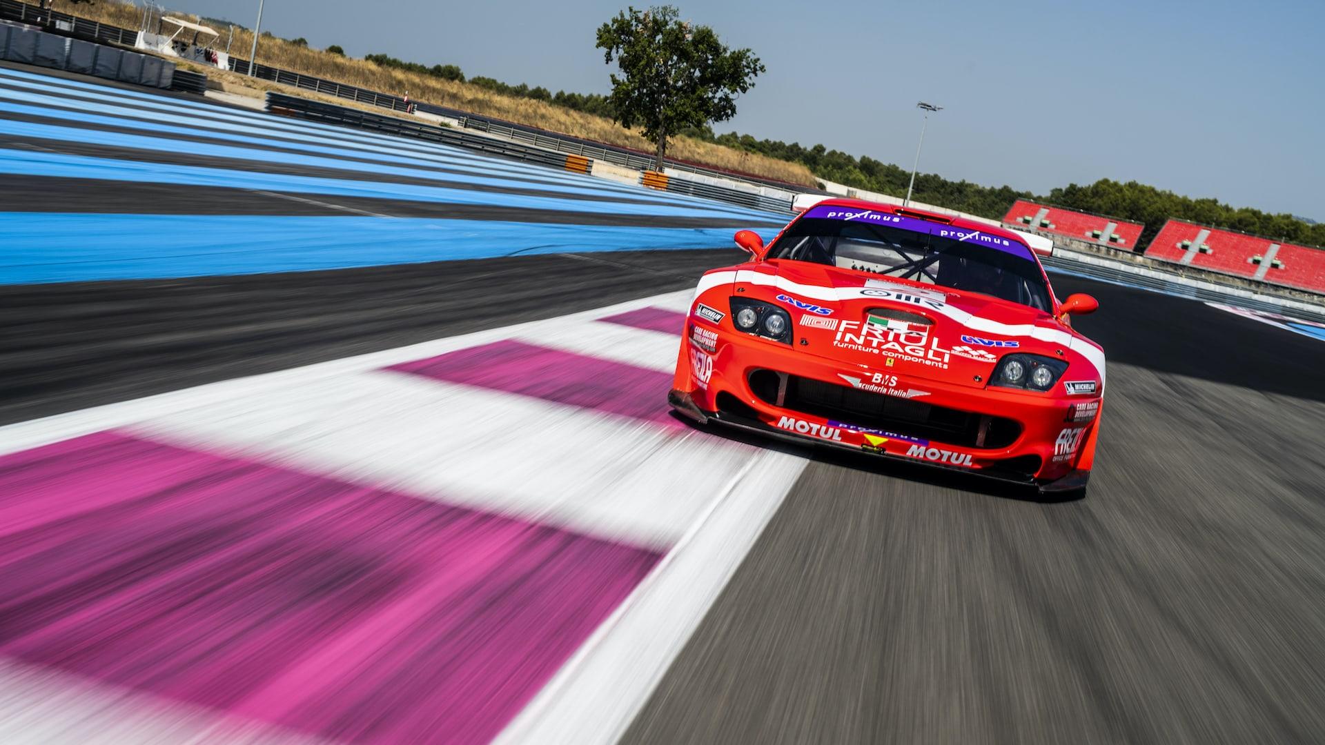 Ferrari GT1 sets online auction record