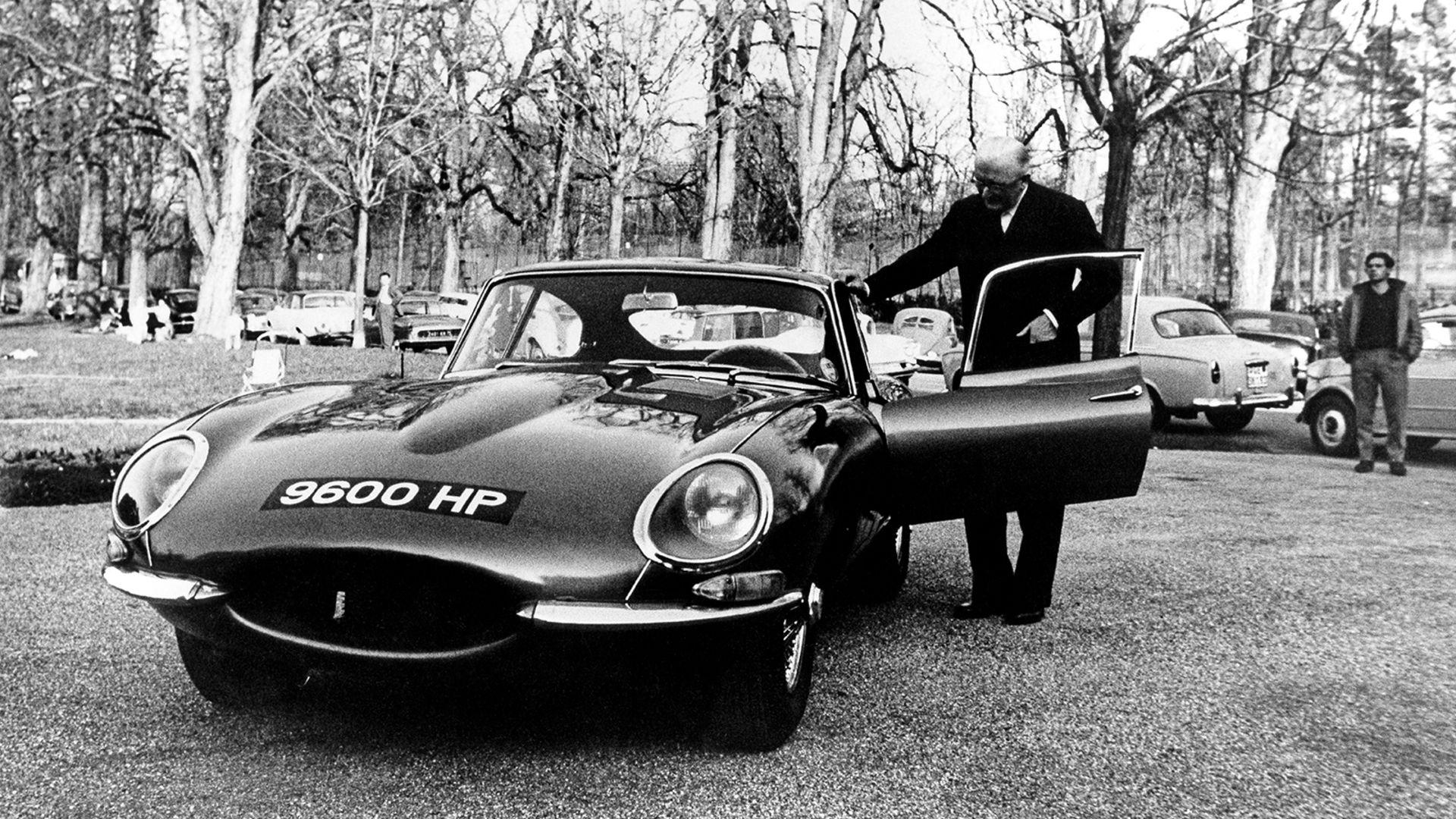 Jaguar E-Type '9600 HP'