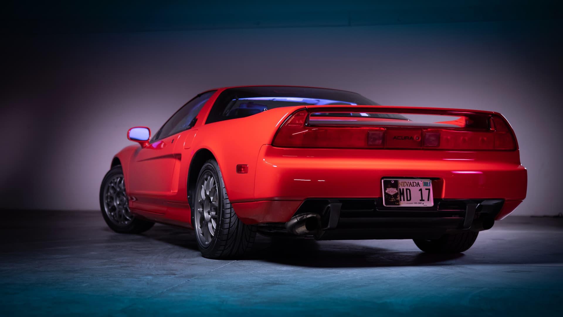 Record Acura NSX Zanardi Auction Sale