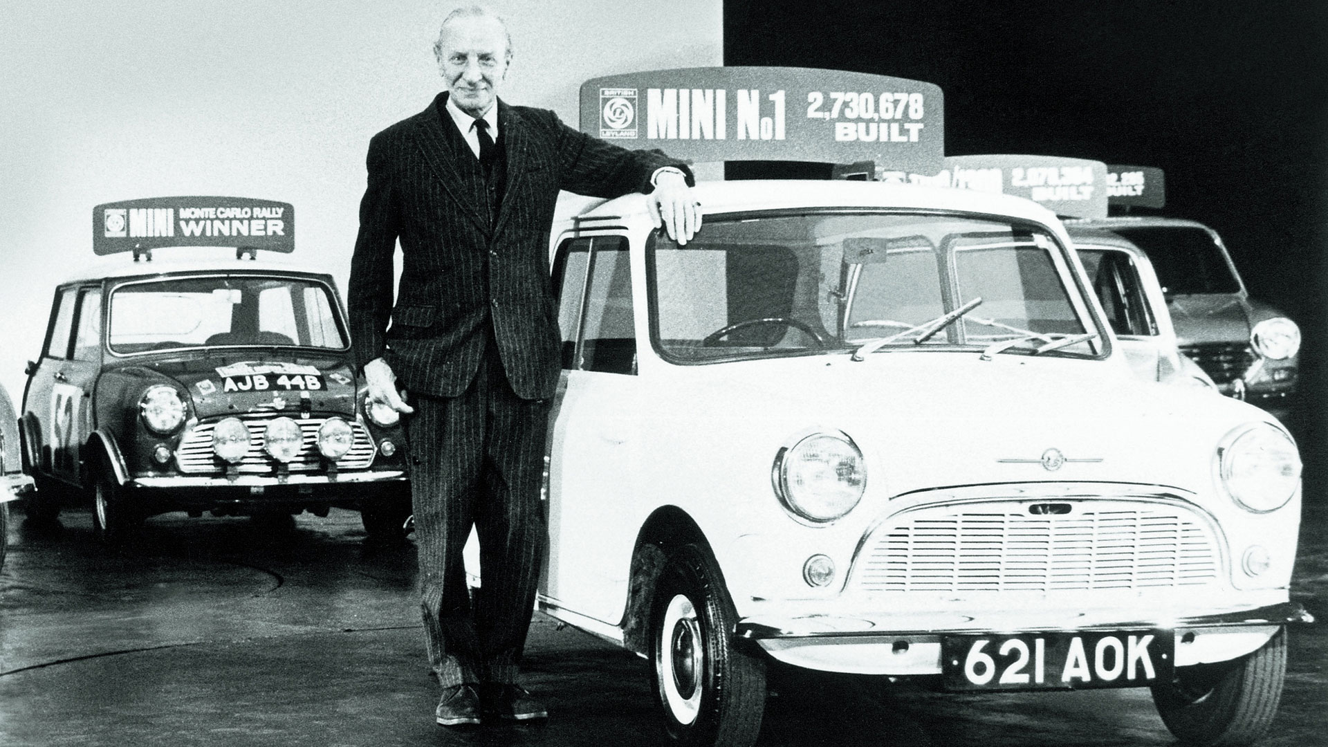 Sir Alec Issogonis and the first Mini