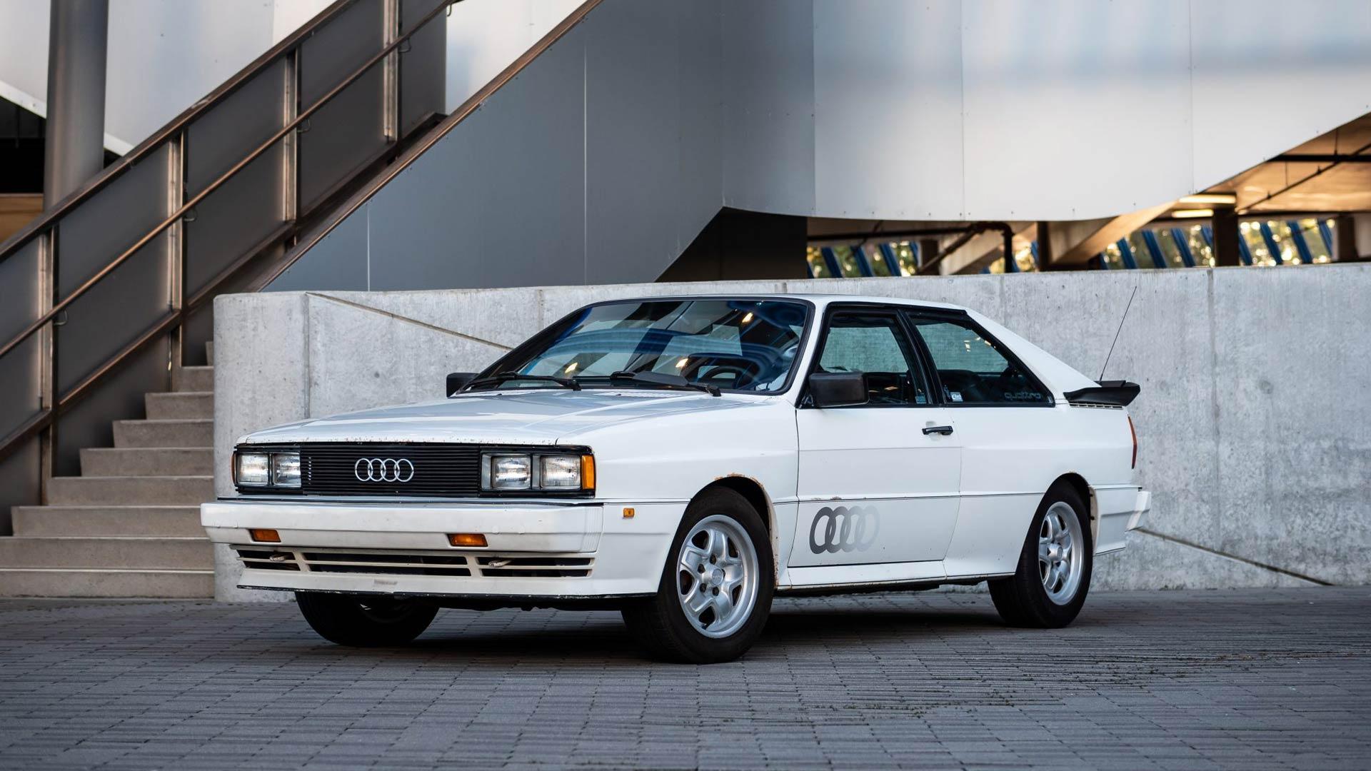 Barn Find 1983 Audi Ur Quattro